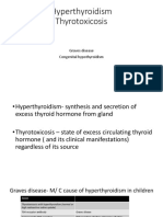 A presentation on congenital hyperthyroidism