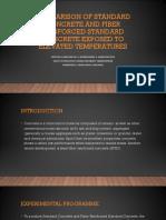 Comparison of Standard Concrete and Fiber Reinforced Standard