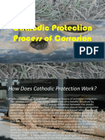 Cathodic Protection Process of Corrosion