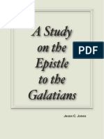 A Study on the Epistle to the Galatians by Jesse C. Jones