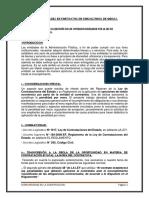 PENALIDADES EN CONTRATOS DE CONSULTORÍA DE OBRAS.