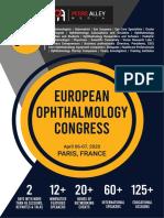 Euro Ophthalmology 2020 Scientific Program