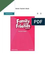 Family and Friends Starter Teacher's Book | Phonics | Reading (Process).pdf