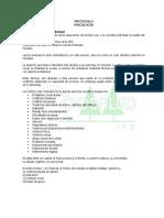 Protocolo Medicina General