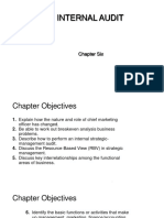 Chapter 6-The Internal Audit