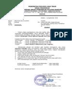 Undangan Bimtek Operator Dapodik 2019