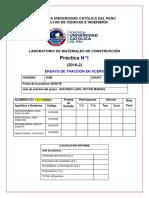 Informe El Acero H50B Grupo N°1