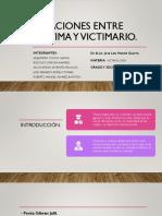 Relaciones Entre Victima y Victimario