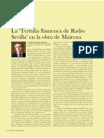 El flamenco en Radio Sevilla