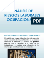Análisis de Riesgos Laborales - Ocupacionales Sábado