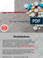 High Alert Medication. Ppt