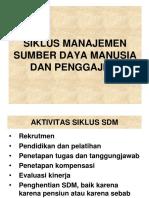 SDM & Penggajian