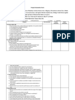 Project Evaluation Forms