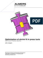 Optimization of Shrink Fit in Press Tools