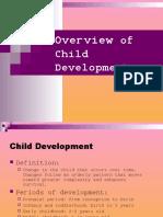 Childs Development Overview