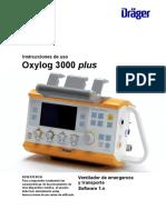 Oxylog 3000 Plus -Uso