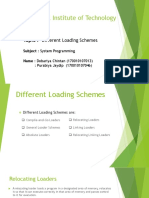 Different Types of Loading Schemes