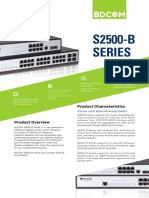 Distribution Switch - BDCom S2528-B