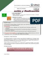 TEMA10 Potenciacion y Radicacion