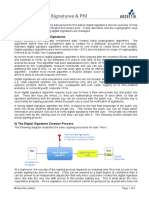 Basics of Digital Signatures and PKI s