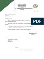 Designation Oic
