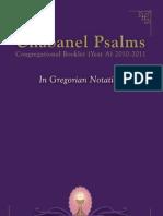 Congregational Book in GREGORIAN NOTATION