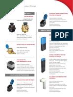 Smart Energy Water Metering Product Range PDF