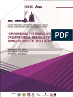 3rd International Conference On Creative Media, Design & Technology (REKA 2018) Abstract Book