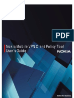Nokia VPN Client Policy Tool Users Guide