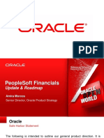PeopleSoft Financials Roadmap 2012