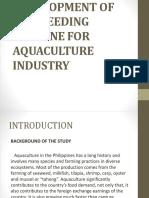 Development of Fish Feeding Machine for Aquaculture Industry - Copy