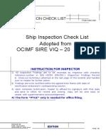 SSS HOOM 009-002 (Vesssel Inspection Checklist) OCIMF SIRE(1) (3)