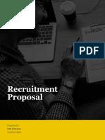 Recruitment Proposal