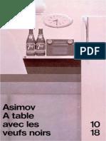 A Table Avec Les Veufs Noirs - Isaac Asimov