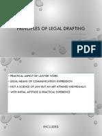 Principles of Legal Drafting