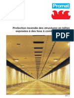 Tunnel - Protection Incendie Des Structures en Béton Exposées à Des Feux à Combustion Rapide
