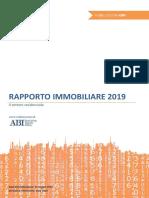 rapporto immobiliare OMI 2019