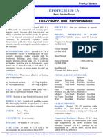 Product Data Sheet for Epotech LV150