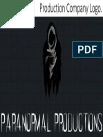 paranormal productions logo