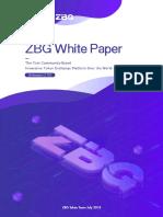 Zbg White Paper 0905