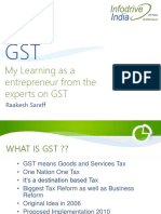 Gst Guidelines Infodrive India