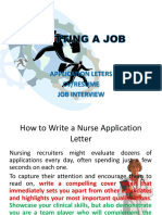 GETTING a JOB App Interview