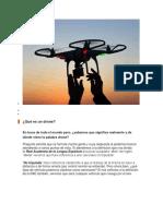 Qué Es Un Drone Significado