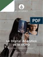 Digital Analytics Et Le RGPD Un an Après Êtes-Vous Conforme