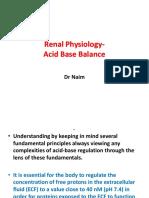 Acid Base Balance Dr Naim