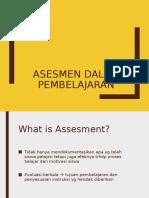14-Assesmen dalam Pembelajaran.ppt