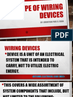 Type of Wiring Devices and GFCI