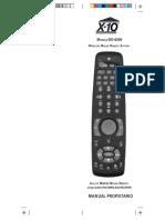 Domotica D-6006 - X10 _ Manual Mando Distancia
