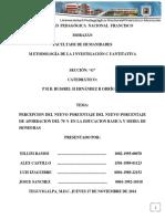 Percepcion Del Nuevo Porcentaje Del Nuevo Porcentaje de Aporbacion Del 70 en La Educacion Basica y Media de Honduras