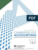 Accounting 11 Cambridge